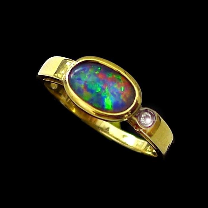 genuine opal rings opalmine from australia