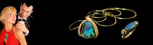 gift-giving-how-to-relieve-the-pain- boulder opal pendant and ring in gold
