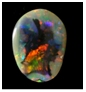 opals-black opal picture stone