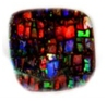 opals-stained window boulder opal