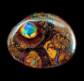 Yowah nut unset opal