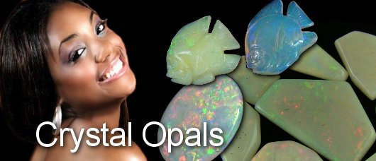 crystal opals