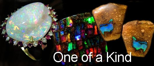 one of a kind opals
