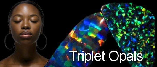 triplet opals