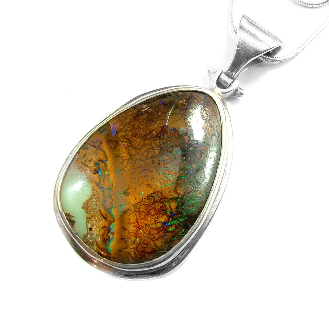 Boulder Opal Matrix from Koroit field in Queensland
