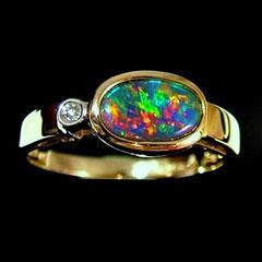 Opal ring 5567