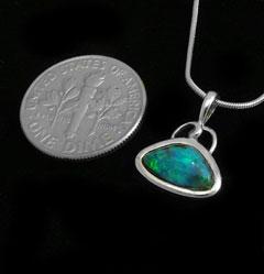 Opal Pendant 4029