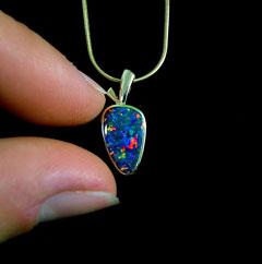 Opal Pendant 4078