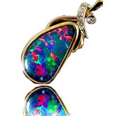 Opal Pendant 4098