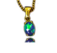 Opal Pendant 4128