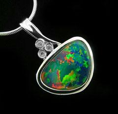 Opal Pendant 4199