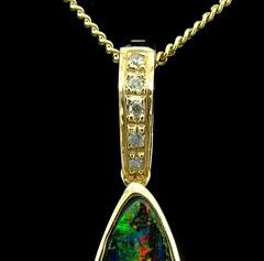 Opal Pendant 4223