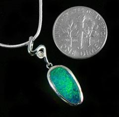 Opal Pendant 4254