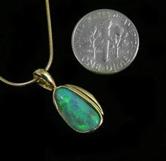 Opal Pendant 4262