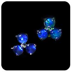 Opal Earrings 6711