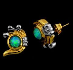 Opal Earrings 6025