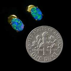 Opal Earrings 6036-SOLD
