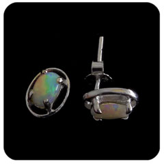 Opal Earrings 6038