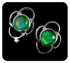 Opal Earrings 6054