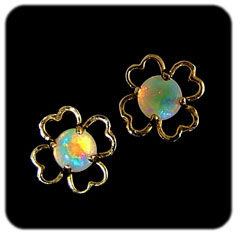 Opal Earrings 6062