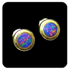 Opal Earrings 6079