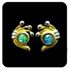 Opal Earrings 6092