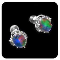 Opal Earrings 9015