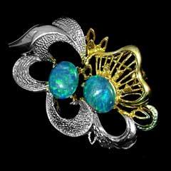 Opal Brooch 6702