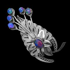 Opal Brooch 6703