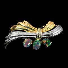 Opal Brooch 6704
