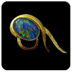 Opal Brooch 6707