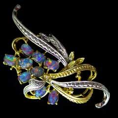 Opal Brooch 6712