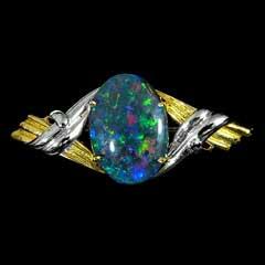 Opal Brooch 6717