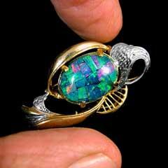 Opal Brooch 6718