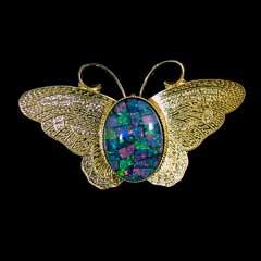 Opal Brooch 6728