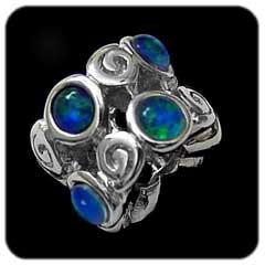 Opal Bead 7027
