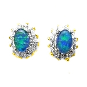 Opal Earrings 6012