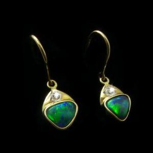 Opal Earrings 6097