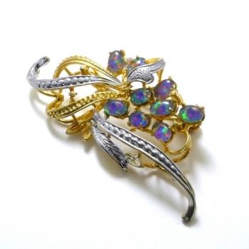 Opal Brooch 6708
