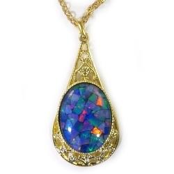 Opal Pendant 4330