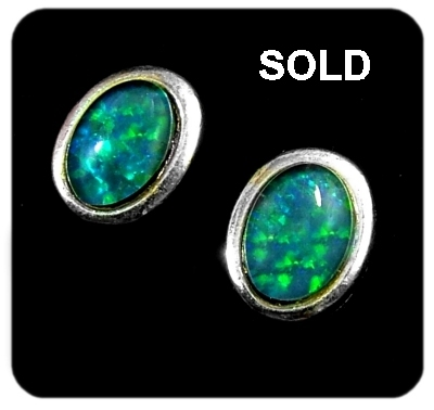 Opal Earrings 6022-SOLD