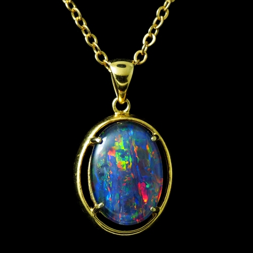 opal pendant 4261b
