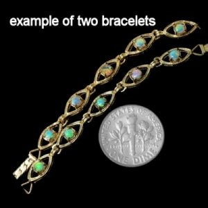 opal bracelet 6425-original price $300