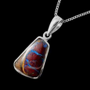 opal pendant 4197