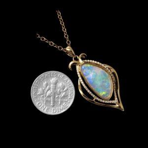 opal pendant 4139a-SOLD