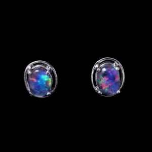 Opal Earrings 6713e