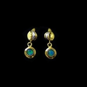 Opal Earrings 6094