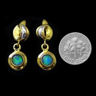 Opal Earrings 6094