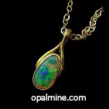 Opal Pendant 4063