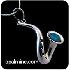 Opal Pendant 4064-original price $130